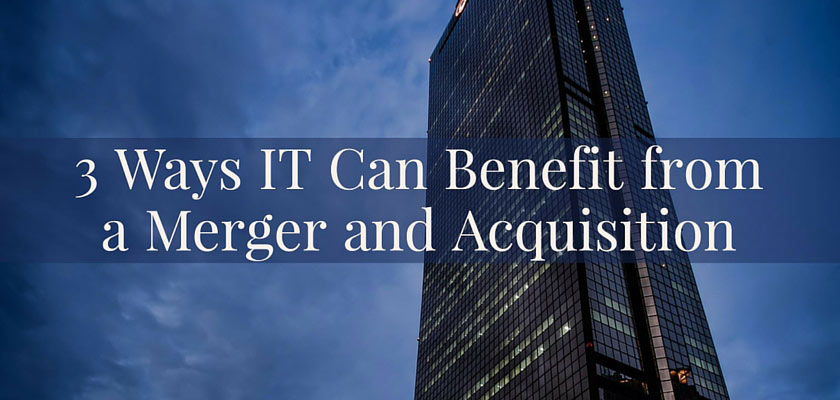 3 Ways IT can benefit from a Merger and Acquisition – dinCloud