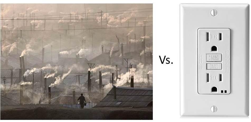 coal vs electric