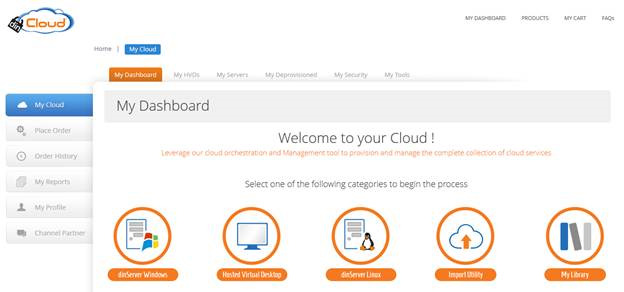 dinManage cloud server software