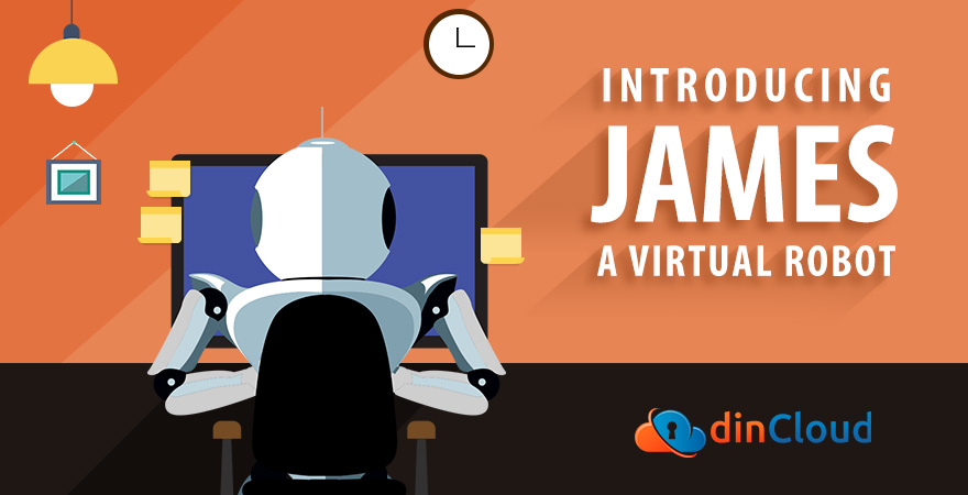 James the Virtual Robot