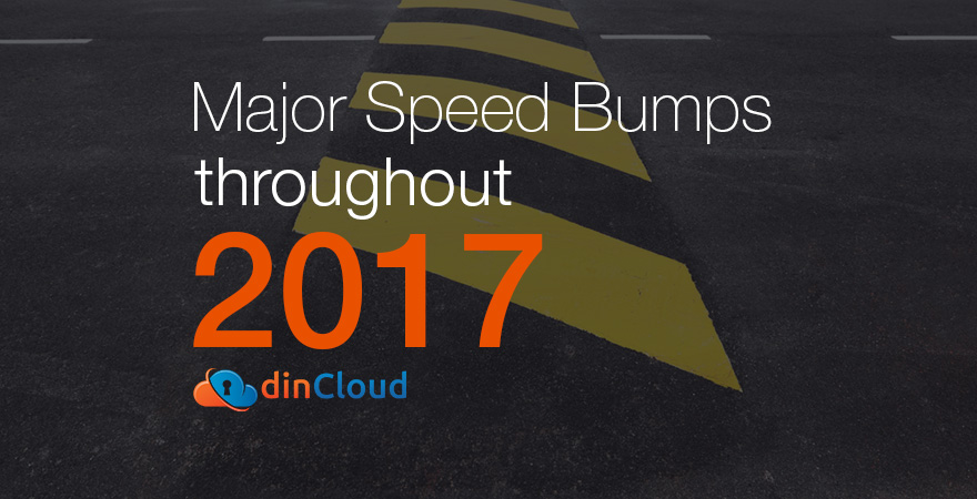 Major Speed Bumps throughout 2017