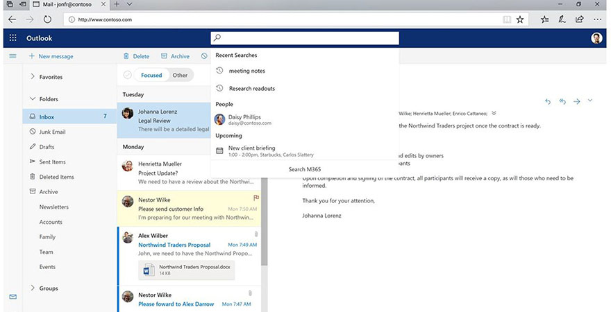 The New Microsoft Outlook Design Now Available