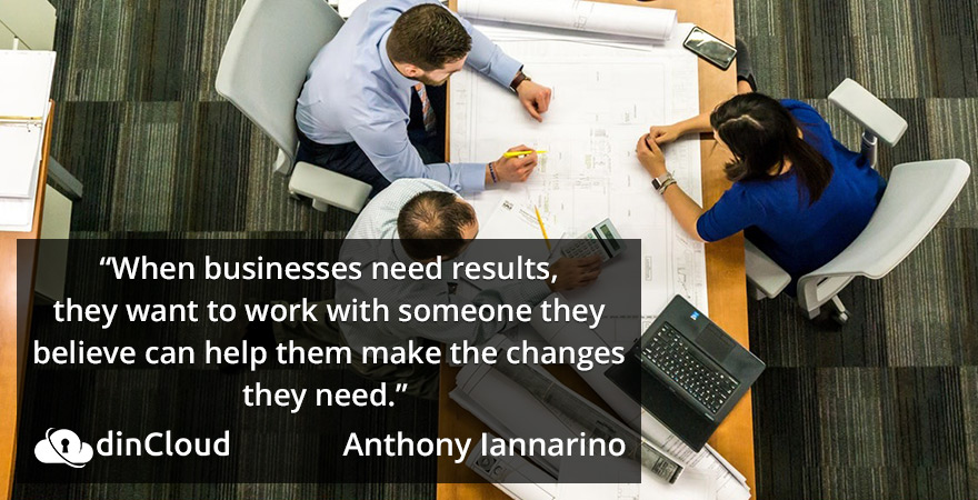 When Businesses Need Results - Quote From Anthony Iannarino