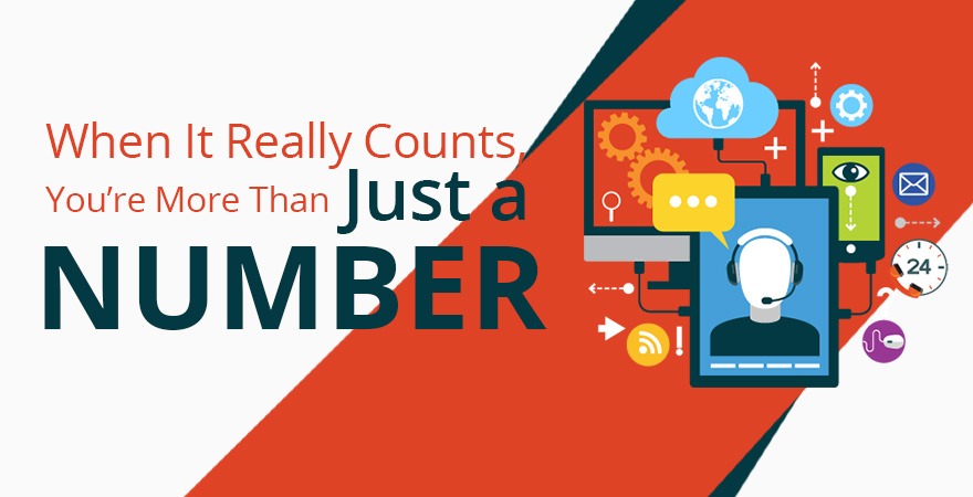 When It Really Counts, You're More Than Just a Number