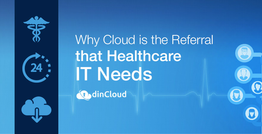 Why Cloud is the Referral that Healthcare IT Needs | dinCloud