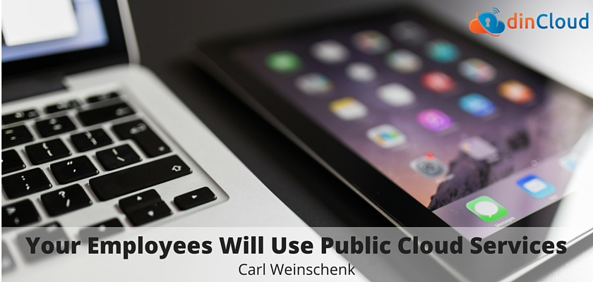 Your Employees Will Use Public Cloud Services - dinCloud