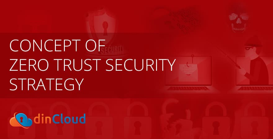 concept of zero trust security strategy