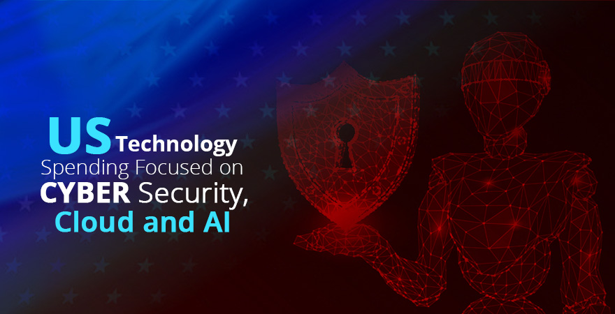 US Technology Spending Focused on Cyber Security, Cloud and AI