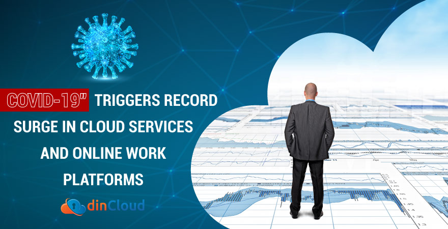 COVID-19 Triggers Record Surge in Cloud Services and Online Work Platforms