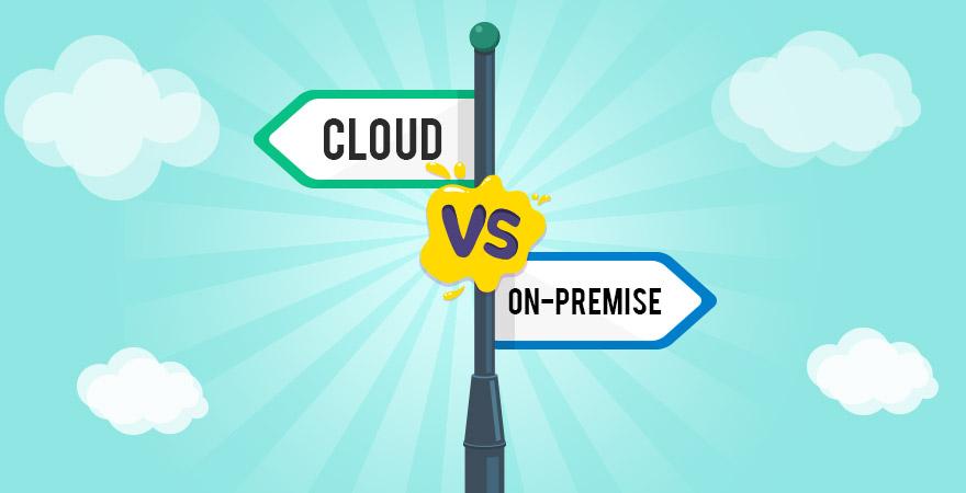 Cloud v/s On Premise Architecture