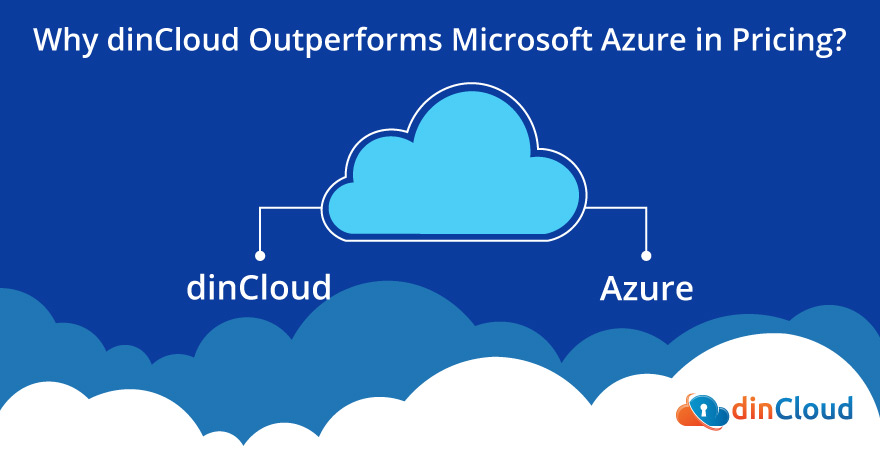Azure vs dinCloud Pricing