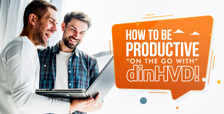 "How to be Productive ""On the Go"" with dinHVDs!"