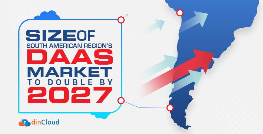 Size of South American Region's DaaS Market to Double by 2027