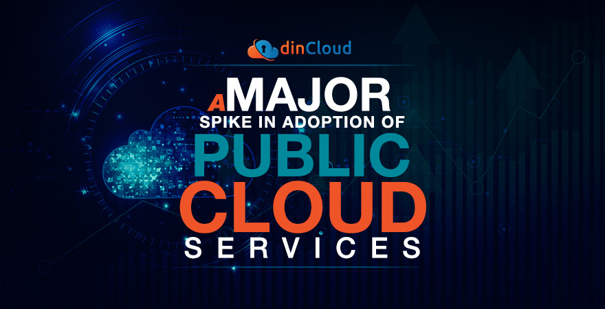 A Major Spike in Adoption of Public Cloud Services