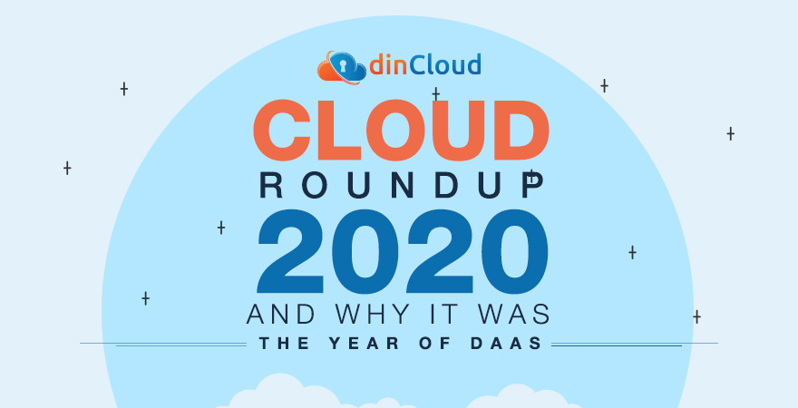 """Cloud Roundup 2020 and Why it Was """"The Year of DaaS"""""""
