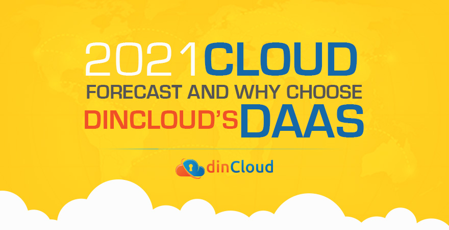 2021 Cloud Forecast and Why Choose dinCloud's DaaS