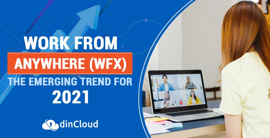 Work from Anywhere (WFX) – The Emerging Trend for 2021